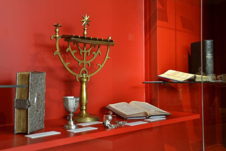 Judaica im LMB, Foto: ©KBB Weiss