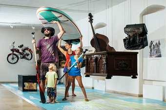Familien sind im Landesmuseum herzlich willkommen, Foto: ©Lukas Lorenz
