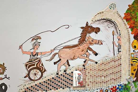 Im Galopp durch die Römerzeit Auf der Bernsteinstraße nach Bruckneudorf
